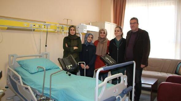 Esnafın desteğiyle devlet hastanesinde TDL odası kuruldu