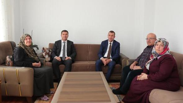 Başkan Ercengizden şehit Gökün ailesine ziyaret