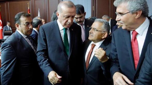 Başkan Büyükkılıç, Cumhurbaşkanı ile görüştü