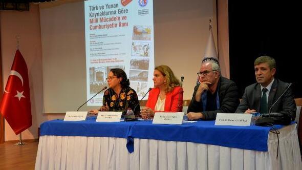 ÇOMÜde Milli Mücadele ve Cumhuriyetin İlanı konulu panel düzenlendi