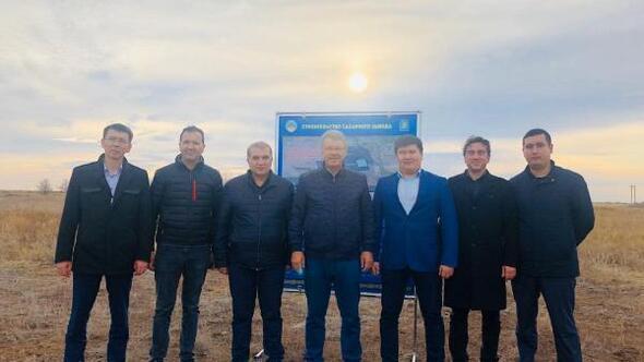 Kayseri Şeker heyeti Kazakistanda