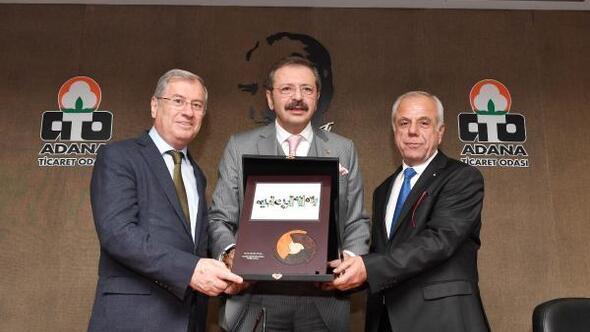 TOBB Başkanı Hisarcıklıoğlu, ATO'da