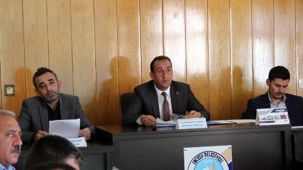 İncesu meclisi, kasım ayı toplantısını yaptı