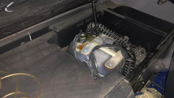 Sınır kapısında 107 kilogram kaçak bal ele geçirildi