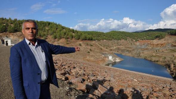 İslahiye Güneş göleti su tutmaya başladı