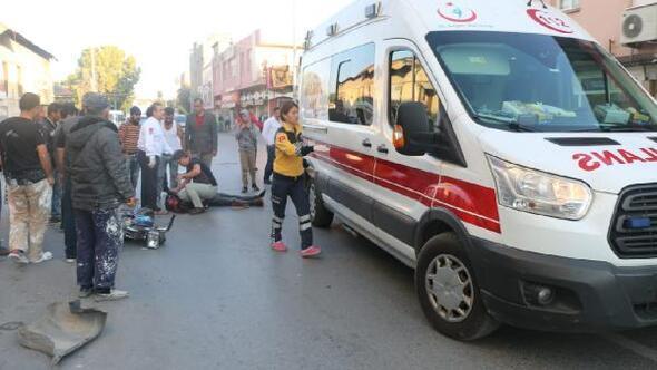 Tarsus'ta meydana gelen iki kazada biri ağır 2 kişi yaralandı