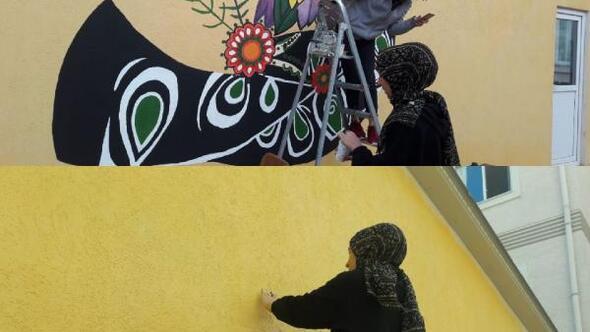 Gençler Bursa'ya renk katıyor