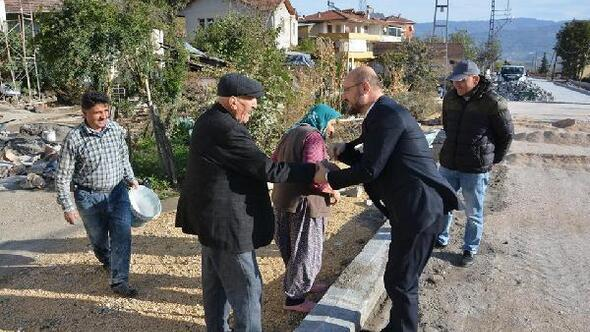 Başkan Özcan: Tek derdimiz hemşehrilerimizin memnuniyeti
