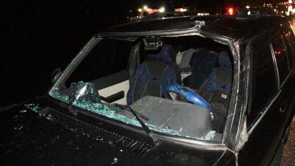 Suşehrinde trafik kazası: 4 yaralı
