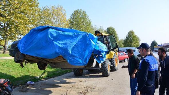 Erbaa Küçük Sanayi Sitesinde temizlik çalışması