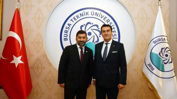 Başkan Dündar'dan BTÜ Rektörü Karademir'e ziyaret