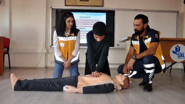 Okullarda ilk yardım eğitimi
