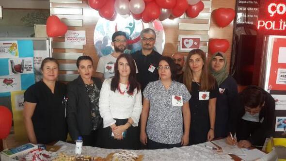 Silifke Devlet Hastanesinde Organ Bağışı Haftası etkinliği