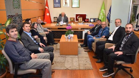 Başkan Aydın'dan Bursa Kent Konseyi'ne ziyaret