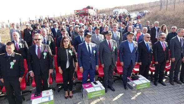 Karabük'te 67 bin 700 fidan toprakla buluştu