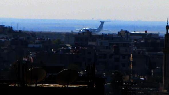 Kamışlıda Rus uçağı hareketliliği