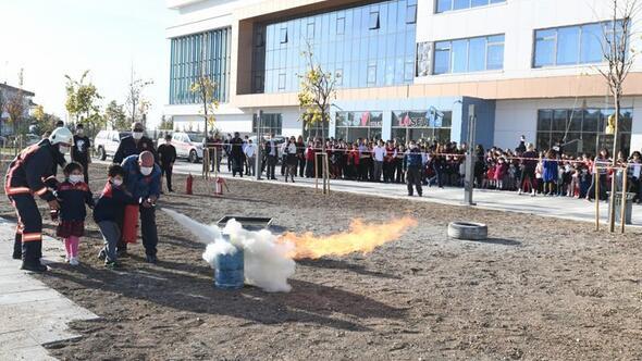 Ankara İtfaiyesi de farkındalık yarattı