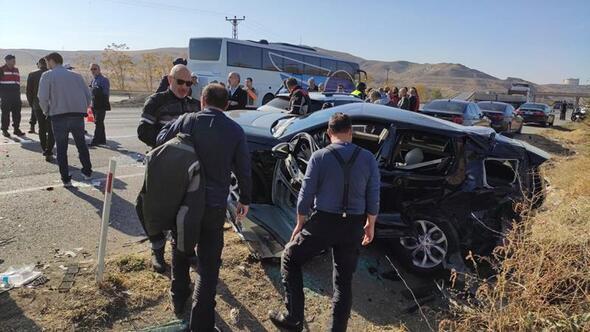 Zincirleme kazada 6 kişi yaralandı