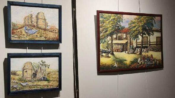 Foçalı 18 sanatçıdan, 18 eserle sergi