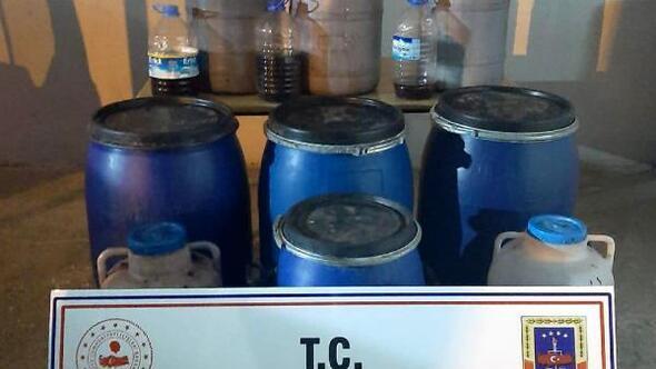 Mersin'de kaçak içki operasyonu