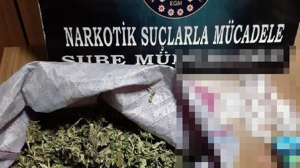 Kütahyada uyuşturucu operasyonunda 3 gözaltı