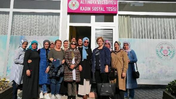Altınova'da kadınlara özel tesis açıldı