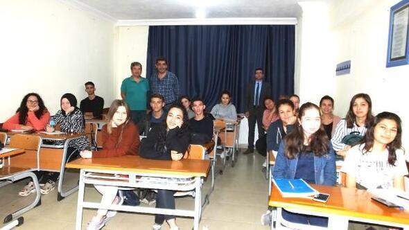 Ücretsiz üniversiteye hazırlık kurslarına yoğun ilgi