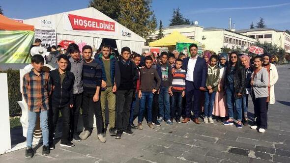 Yatılı bölge ortaokulu öğrencilerine şehir gezisi