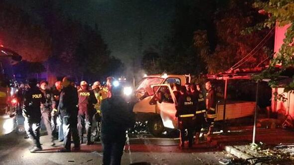 Ispartada kaza: 2 yaralı