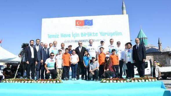 Konya Büyükşehir'e Avrupa Hareketlilik Haftası Ulusal Ödülü