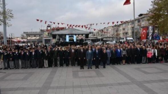 Şarköyde 97nci yıl kutlamaları