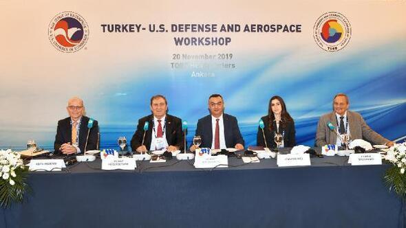 Başkan Büyüksimitci, Türkiye-ABD Savunma ve Havacılık Çalıştayıda