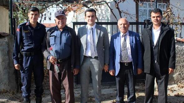 Kaymakam Topaloğlundan köy ziyaretleri