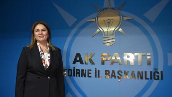 Edirnede Ak Partiye kadın il başkanı atandı