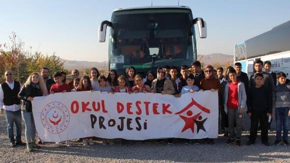 Osmaniyeli öğrenciler, Kapadokyayı gezdi
