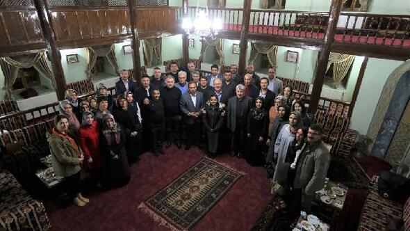 İrfan meclisi öğretmenleri ağırladı