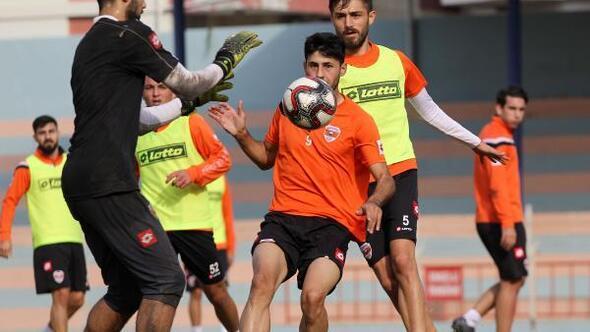 Adanasporda Bursaspor maçı hazırlıkları sürüyor