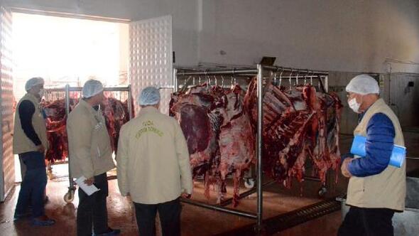 Niğdede et üretim tesislerine sıkı denetim