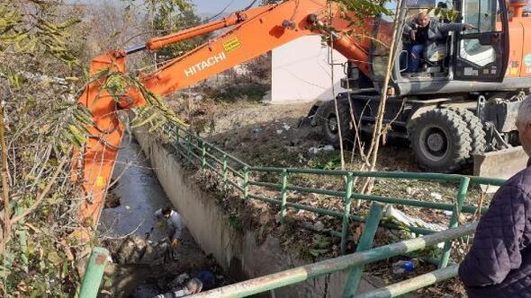 Erbaada sulama kanallarında temizlik çalışması