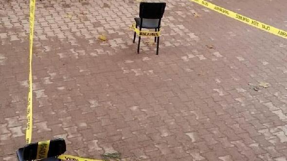 Muhtarlık binasına ateş açıldı
