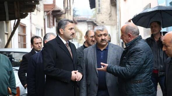 Başkan Eroğlu, mahalle gezilerini sürdürdü