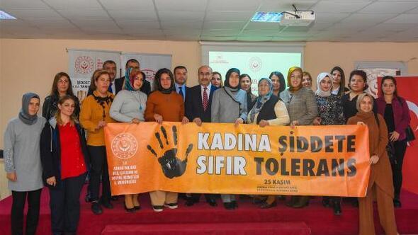 Adanada kadına şiddetle mücadele konferansı