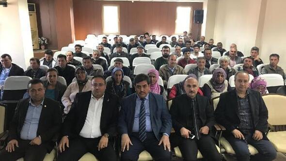 Tarsus'ta çobanlara sürü yönetimi kursu