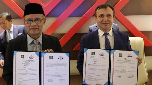 ERÜile Endonezya-Muhammadiyah Teşkilatı Yükseköğretim Konseyi arasında protokolimzalandı