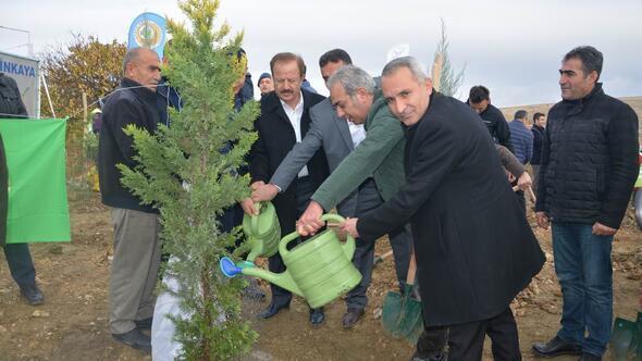 Seferberlik 10 bin ağaçla başladı