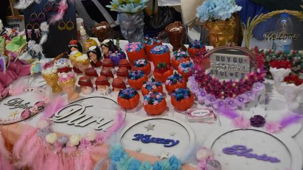 Kadınlar Turuncu Panayırda el emeklerini sergiledi