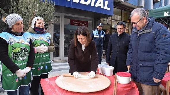 Edirnede kadınlardan İzzeti ikram pazarı