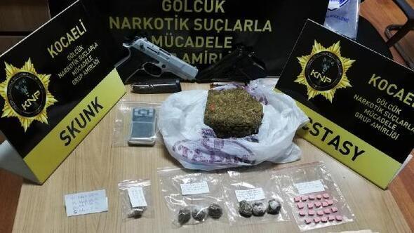 Kocaelide 33 kişi uyuşturucu suçundan gözaltına alındı