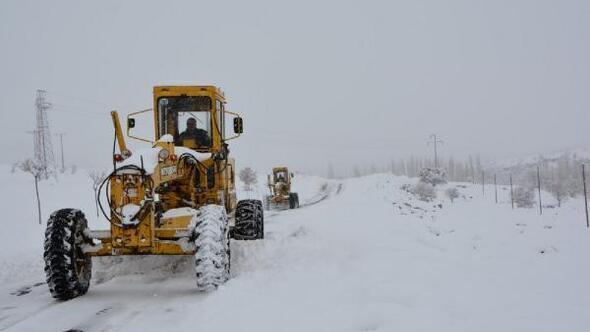 Niğde'de karla mücadele ekibi kuruldu