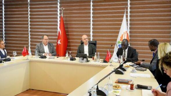 Antalya OSB Ugandaya gidiyor